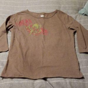 Columbia 3/4 sleeve shirt